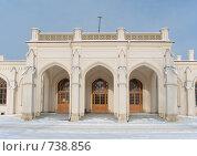 Купить «Железнодорожная станция Новый Петергоф», фото № 738856, снято 23 февраля 2009 г. (c) Евгений Поздняков / Фотобанк Лори