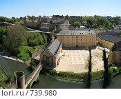 Купить «Историческая часть Люксембурга, Люксембург», фото № 739980, снято 8 июля 2020 г. (c) Denis Kh. / Фотобанк Лори