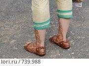 Купить «Украшение ног индийской женщины», фото № 739988, снято 5 декабря 2008 г. (c) Free Wind / Фотобанк Лори