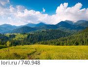 Горный пейзаж (2008 год). Стоковое фото, фотограф Юрий Брыкайло / Фотобанк Лори