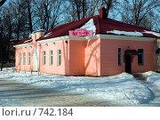 Купить «Отдельно стоящее в парке здание кафе», эксклюзивное фото № 742184, снято 5 марта 2009 г. (c) Сергей Шустов / Фотобанк Лори