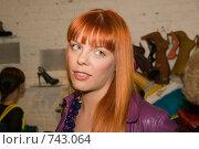 Купить «Анастасия Стоцкая», фото № 743064, снято 20 мая 2008 г. (c) Михаил Ворожцов / Фотобанк Лори