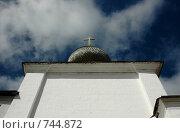 Купить «Купол соловецкого монастыря», фото № 744872, снято 21 июля 2006 г. (c) Наталья Щербань / Фотобанк Лори