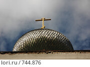 Купол соловецкого монастыря (2006 год). Редакционное фото, фотограф Наталья Щербань / Фотобанк Лори
