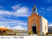 Греческая православная церковь в горах на Крите (2007 год). Стоковое фото, фотограф Ирина Рубанова / Фотобанк Лори