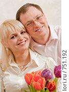 Купить «Счастливая пара», фото № 751192, снято 9 марта 2009 г. (c) Кравецкий Геннадий / Фотобанк Лори