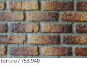 Купить «Кирпичная стена», фото № 753940, снято 12 ноября 2019 г. (c) Лямзин Дмитрий / Фотобанк Лори