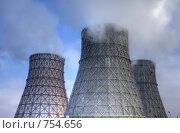 Купить «ТЭЦ. Экология», фото № 754656, снято 22 октября 2018 г. (c) Николай Михальченко / Фотобанк Лори