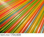 Купить «Трубочки для коктейлей», фото № 754808, снято 27 февраля 2009 г. (c) Кирпинев Валерий / Фотобанк Лори