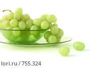 Зеленый виноград. Стоковое фото, фотограф Смирнова Ольга / Фотобанк Лори
