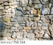 Купить «Стена выложенная из природного камня», фото № 758164, снято 18 марта 2009 г. (c) Кирпинев Валерий / Фотобанк Лори