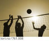 Волейбол. Стоковое фото, фотограф Здоров Кирилл / Фотобанк Лори