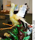 Купить «Аист из карамели», фото № 761268, снято 19 марта 2009 г. (c) Чернышева Лариса / Фотобанк Лори