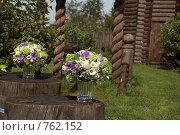 Купить «Флористические композиции», фото № 762152, снято 10 августа 2007 г. (c) Ольга Харламова / Фотобанк Лори