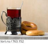 Купить «Чай с баранками», фото № 763152, снято 21 марта 2009 г. (c) Михаил Ковалев / Фотобанк Лори