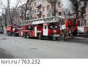 Купить «Специальная техника на боевой работе», фото № 763232, снято 16 марта 2009 г. (c) Андрей Соловьев / Фотобанк Лори