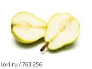 Купить «Разрезанная груша», фото № 763256, снято 14 февраля 2009 г. (c) Василий Нижников / Фотобанк Лори