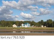 Дачный дом на берегу Финского залива. Стоковое фото, фотограф Виталий Фурсов / Фотобанк Лори