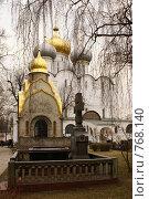 Купить «Москва, Новодевичий монастырь», фото № 768140, снято 5 апреля 2008 г. (c) Julia Nelson / Фотобанк Лори