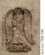 Купить «Москва. Новодевичий монастырь. Изображение ангела на мавзолее Прохоровых», фото № 768144, снято 5 апреля 2008 г. (c) Julia Nelson / Фотобанк Лори