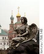 Купить «Москва. Новодевичий монастырь», фото № 768148, снято 5 апреля 2008 г. (c) Julia Nelson / Фотобанк Лори