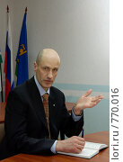Мэр Качканара, Набоких Сергей Михайлович (2009 год). Редакционное фото, фотограф Дмитрий Лемешко / Фотобанк Лори