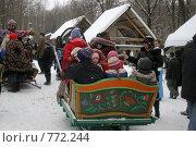 Купить «Масленица. Катание на лошадях», фото № 772244, снято 1 марта 2009 г. (c) Gagara / Фотобанк Лори