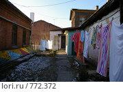 Купить «Дворик у дома Смитов (старый Владивосток)», фото № 772372, снято 13 декабря 2008 г. (c) Елена Климовская / Фотобанк Лори