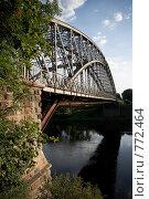 Пешеходный мост. Стоковое фото, фотограф Арина Соколова / Фотобанк Лори