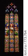 Купить «Витраж (Santa Maria del Mar)», фото № 773764, снято 11 марта 2009 г. (c) Брыков Дмитрий / Фотобанк Лори