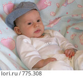 Купить «Мальчик в кепке», фото № 775308, снято 21 марта 2009 г. (c) Юлия Подгорная / Фотобанк Лори