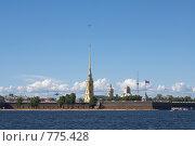 Петропавловская крепость (2008 год). Стоковое фото, фотограф Виталий Фурсов / Фотобанк Лори