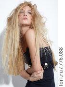 Красивая девушка. Стоковое фото, фотограф Serg Zastavkin / Фотобанк Лори