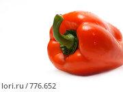 Купить «Болгарский перец на белом фоне», фото № 776652, снято 7 марта 2009 г. (c) Руслан Кудрин / Фотобанк Лори