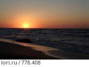 Море. Закат. Стоковое фото, фотограф Пакалин Сергей / Фотобанк Лори