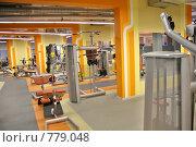 Купить «Тренажерный зал», фото № 779048, снято 20 января 2018 г. (c) Losevsky Pavel / Фотобанк Лори