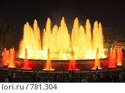Купить «Фонтан перед Национальным Дворцом Каталонии. Барселона», фото № 781304, снято 4 сентября 2008 г. (c) Vitas / Фотобанк Лори