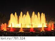 Купить «Фонтан перед Национальным Дворцом Каталонии. Барселона», фото № 781324, снято 4 сентября 2008 г. (c) Vitas / Фотобанк Лори