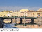 Мост Белинского (2009 год). Стоковое фото, фотограф Сергей Разживин / Фотобанк Лори