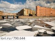 Купить «Река Фонтанка. Санкт-Петербург», эксклюзивное фото № 790644, снято 22 марта 2009 г. (c) Александр Алексеев / Фотобанк Лори