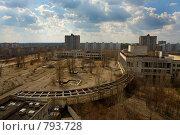 Чернобыльская зона отчуждения. Припять (2006 год). Стоковое фото, фотограф Вадим Морозов / Фотобанк Лори