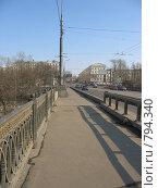 Купить «Лефортовский мост», фото № 794340, снято 28 марта 2009 г. (c) Евгения Плешакова / Фотобанк Лори