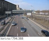 Купить «Третье транспортное кольцо», фото № 794388, снято 28 марта 2009 г. (c) Евгения Плешакова / Фотобанк Лори