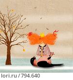 Купить «Тихий звон», иллюстрация № 794640 (c) Андреева Екатерина / Фотобанк Лори