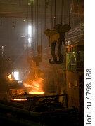 Купить «Электросталеплавильный цех», фото № 798188, снято 15 мая 2008 г. (c) Андрей Константинов / Фотобанк Лори