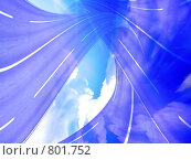 Купить «Абстрактное небесное движение», фото № 801752, снято 11 октября 2008 г. (c) Андрей Бурдюков / Фотобанк Лори