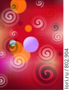 Купить «Абстрактные завитушки», иллюстрация № 802904 (c) Камбулина Татьяна / Фотобанк Лори