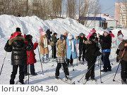 Купить «Урок физкультуры в начальном классе», фото № 804340, снято 17 марта 2009 г. (c) Анатолий Ефимов / Фотобанк Лори
