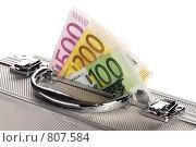 Купить «Металлический чемоданчик с деньгами», фото № 807584, снято 13 апреля 2009 г. (c) Игорь Соколов / Фотобанк Лори