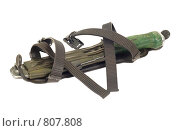 Купить «Армейский нож в ножнах», фото № 807808, снято 11 апреля 2009 г. (c) FotograFF / Фотобанк Лори